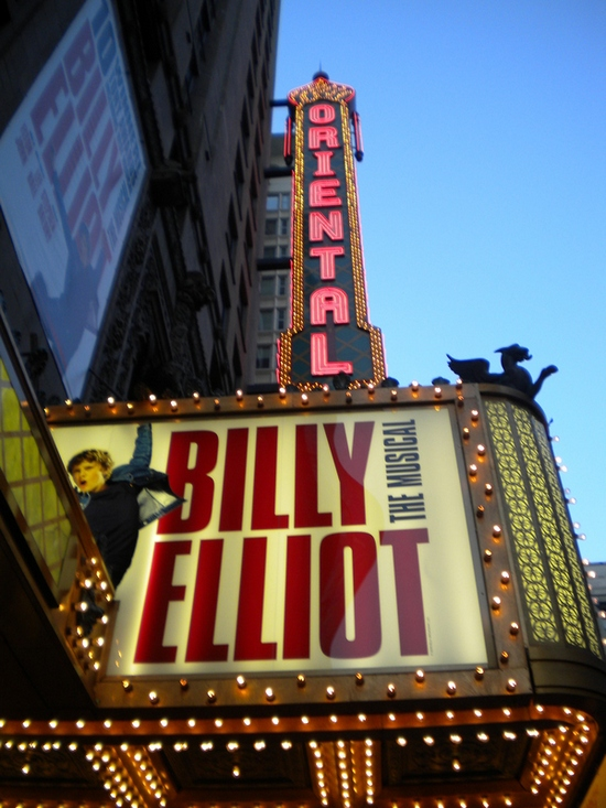 The Oriental Theatre at The Ford Center for the Performing Arts - Home of Billy Elliot the Musical in Chicago for 285 Performances