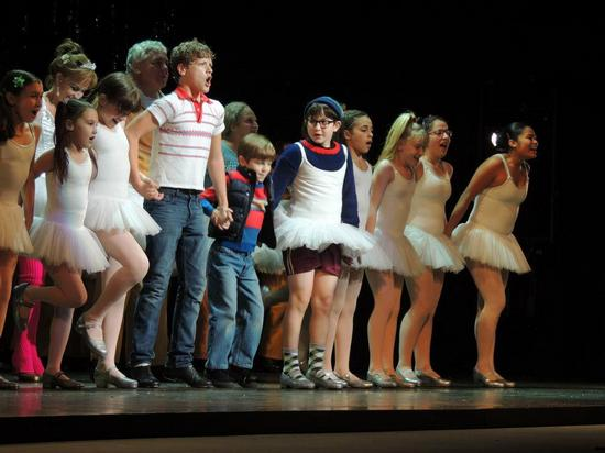 Ben Cook and Billy Elliot Cast in The Finale