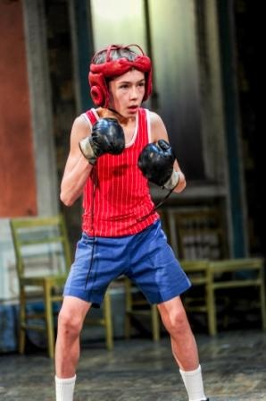 Billy (Drew Minard) in Boxing Class