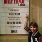 Bradley Perret in front of the Cast Board (Resize)