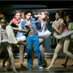 David Alvarez (Billy) and the Ballet Girls