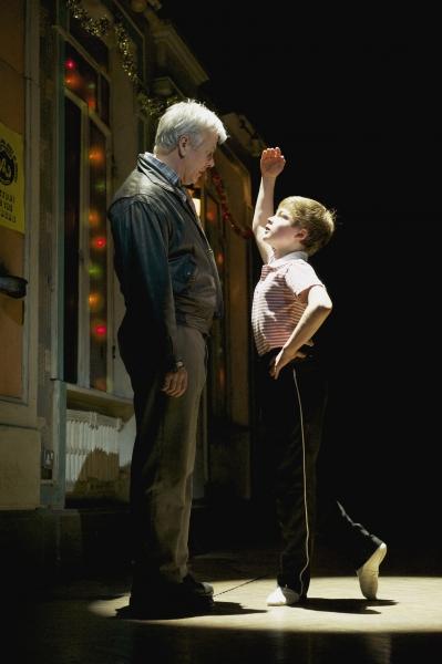 Harris Beattie (Billy) and Deka Walmsley (Dad)
