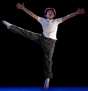 J.P. Viernes as Billy Elliot in Electricity_-_photo_by_joan_marcus