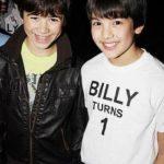 Keean Johnson (Michael) & Alex Ko (Billy) Celebrate Billy's First Birthday on Broadway2