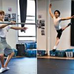 Kiril Kulish and David Alvarez Practice Ballet