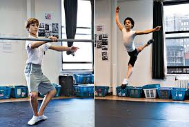 Kiril Kulish & David Alvarez Practice Ballet