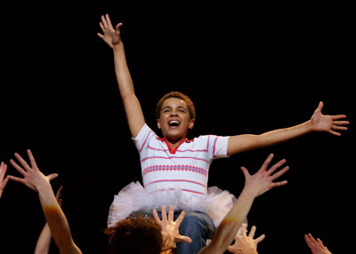 The Curtain Call of Layton Williams's Final Show as Billy Elliot