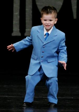 Mitchell in His Early Days of Dancing