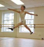 Sam Angell in a pre-BETM dance class