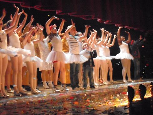 Tanner's Final Curtain Call on 26-Sep-2009