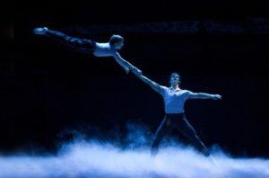 Tommy Batchelor (Billy) & Samuel Pergande (Older Billy) in Dream Ballet