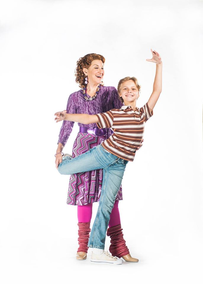 Mrs. Wilkinson (Lyn Cramer) & Billy Elliot (Brooks Landegger)