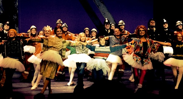 The BETM Oslo Norway Cast Dance in the Finale