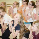 Ballet Girls in Rehearsal