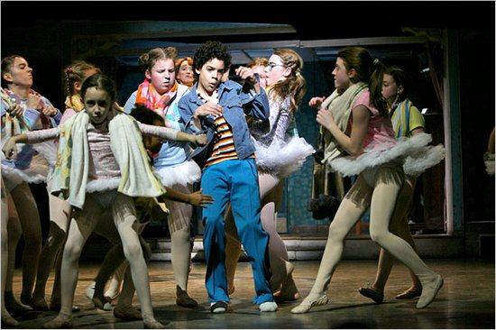 Billy (David Alvarez) & the Broadway Ballet Girls