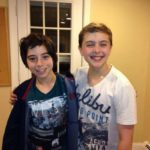 Michael (Alec Shiman) and Billy (Noah Parets) After the 1st Preview
