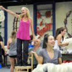 Rehearsal at NSMT
