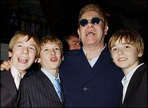 The 3 Original Billys and Elton John