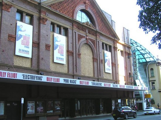 The Capitol Theatre in Sydney