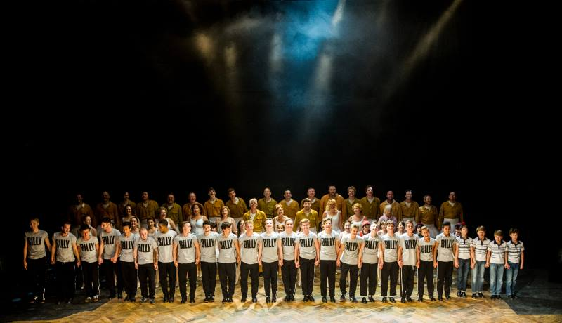 The Cast for Billy Elliot Live