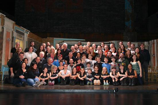 A Final Picture of the Cast & Crew of the North American Tour of BETM (taken on the last tour stop in Brazil)