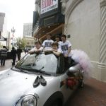 The-Tour-Billys-In-A-Specially-Equipped-Car-in-Front-of-the-Orpheum-Theatre-SF