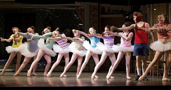 Tommy-Batchelor-and-the-1st-Tour-(Chicgo) Ballet Girls