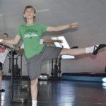 Oscar Practices Ballet Revise