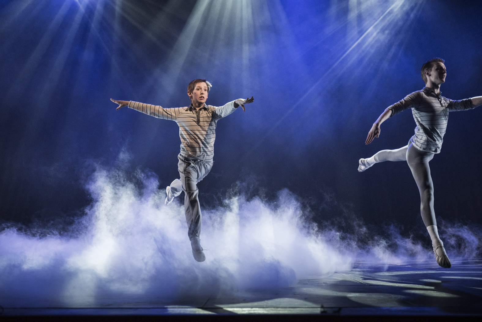 Solvi is Billy Elliot in Dream Ballet