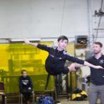 Nicholas Dantes Rehearses Flying for Dream Ballet