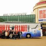 Billy Cast, Bus in Front of the AFAS Circus Theater