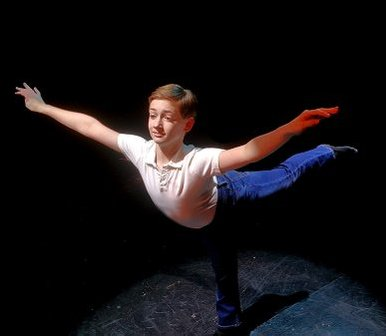 Brandon Ranalli is Billy Elliot
