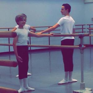 Brooks Landegger Practicing Ballet
