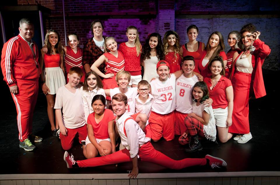 "Eamon Stocks & the rest of the cast of ""High School Musical"" by First Act Productions"