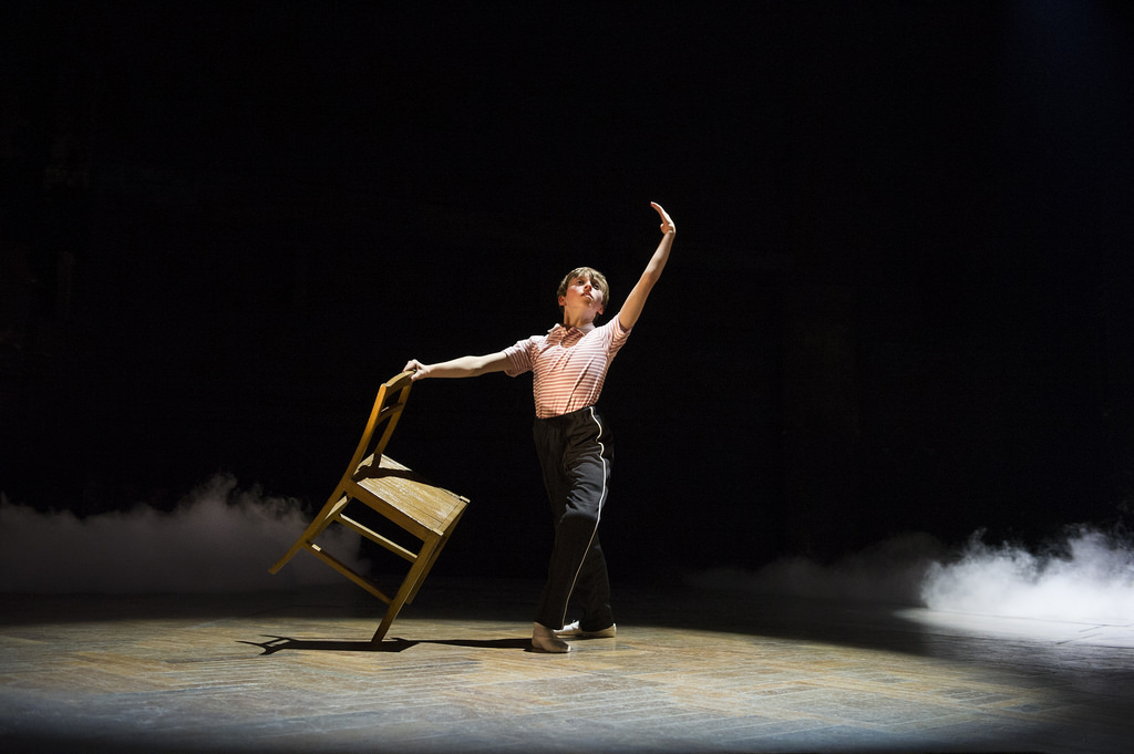 Nat Sweeney in Dream Ballet