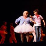 Sylvia Alberts (Grandma) and Samuel Beau Reurekas (Billy)