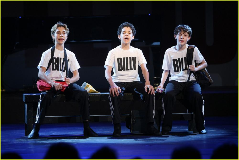 BETM Opens on Broadway (Kiril Kulish, David Alvarez and Trent Kowalik)