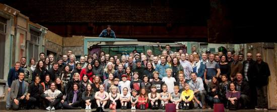 Final Cast Picture From The North American Tour