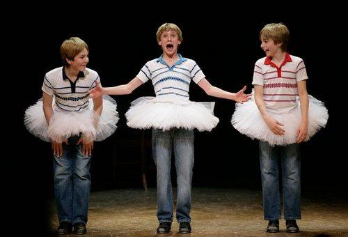 London's 3 Original Billys (l-r James Lomas, George Maguire and Liam Mower)