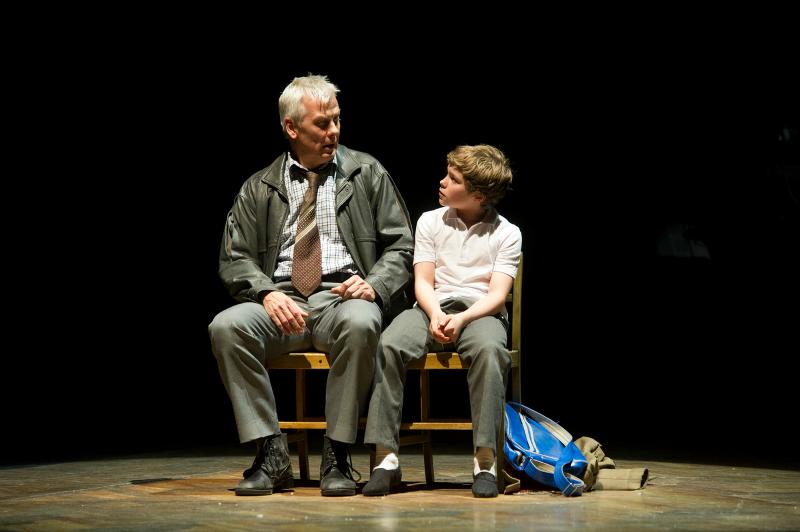 Deka Walmsley (Dad) and Euan Garrett (Billy)