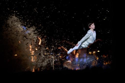 """Billy (Jacob Hermansson) Flies in """"Dream Ballet"""""""