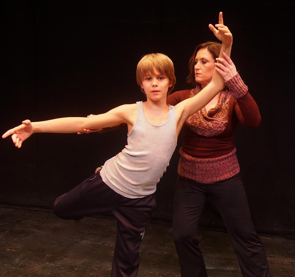 Jamie Mann (Billy) and Noreen MacDonald (Mrs. Wilkinson)