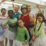 Jamie Mann (Billy) and the Ballet Girls