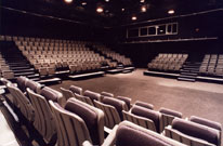 Liddy Doenges Theatre - interior