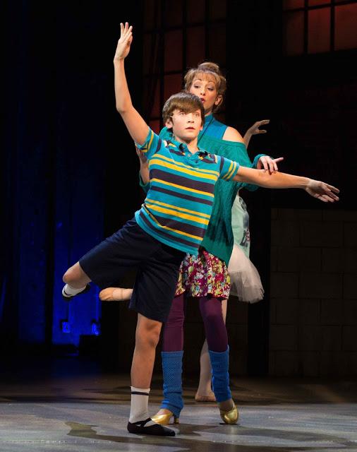 Matthew Dean (Bill) and Jennie Hintze (Mrs. Wilkinson in the Phoenix Theatre Production of BETM