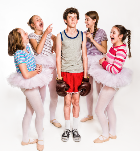 Seamus Whyte and the Ballet Girls
