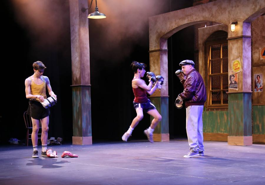 Larsen Birdsong (Billy),  Reilly Sullivan (Michael) and Ken E. Brown (George)