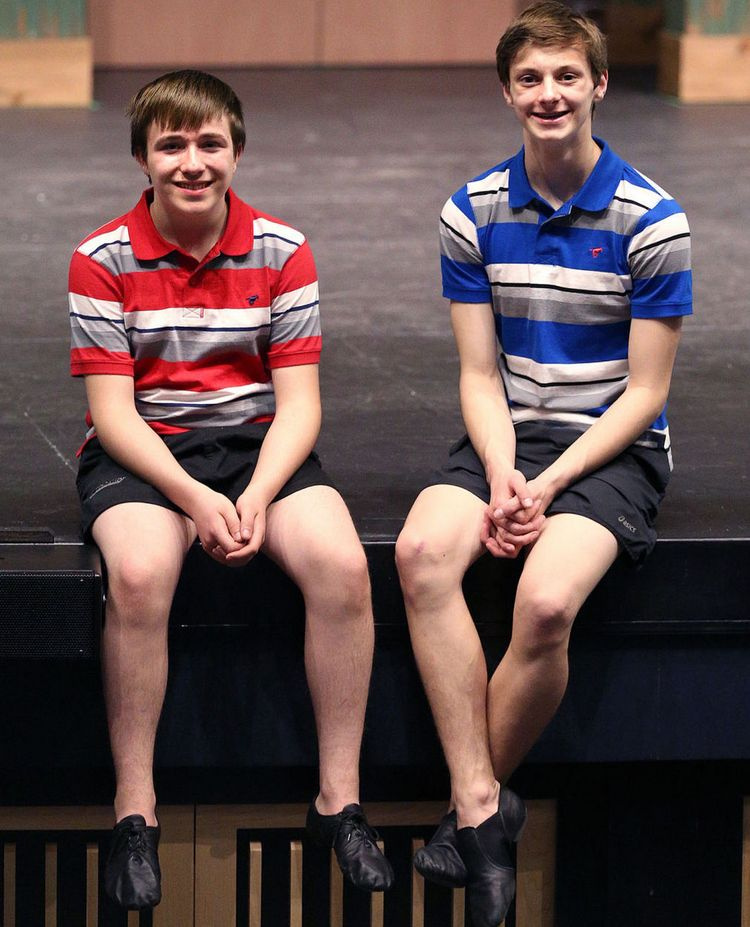 La Crosse's Billys (l-r Brandon Haring and Larsen Birdsong