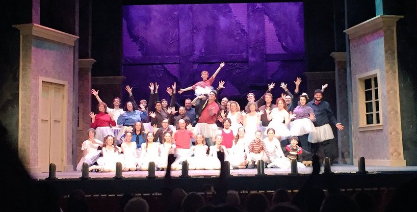 First Curtain Call - Opening Night
