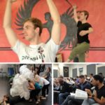 Indianapolis Cast in Rehearsal Collage